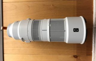 Stolen(?) Sony lens prototype auctioned online before it was even announced