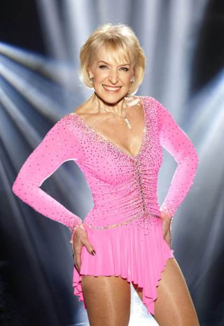 Rosemary Conley exits Dancing on Ice