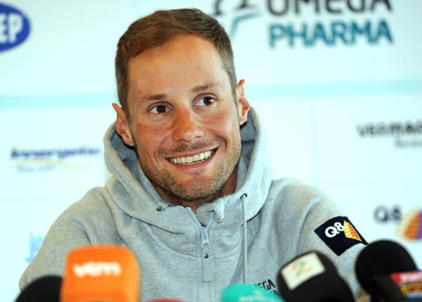 Tom Boonen, Paris-Roubaix 2012 press conference