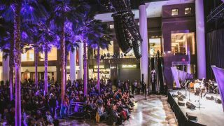 Winter Garden At Brookfield Place Equipped With Martin Audio MLA