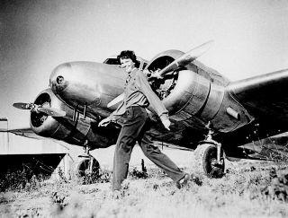 Amelia Earhart airplane