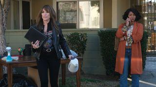 Katey Sagal (left) and Tamala Jones in ABC's 'Rebel'