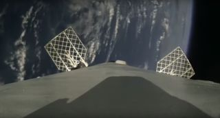 SpaceX's Falcon 9 Rocket Coming Back to Earth