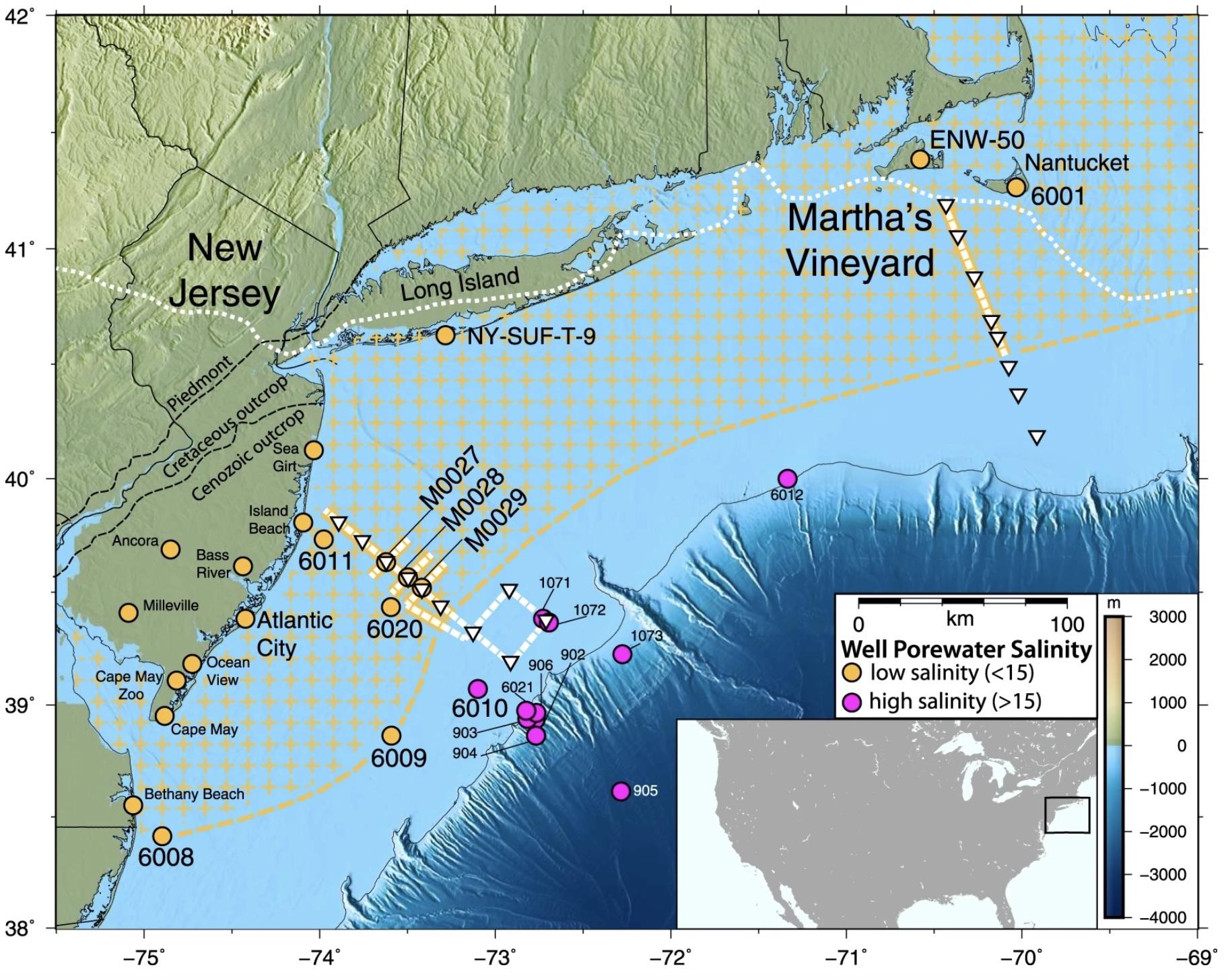 A Massive Freshwater Sea Is Buried Beneath The Atlantic Ocean