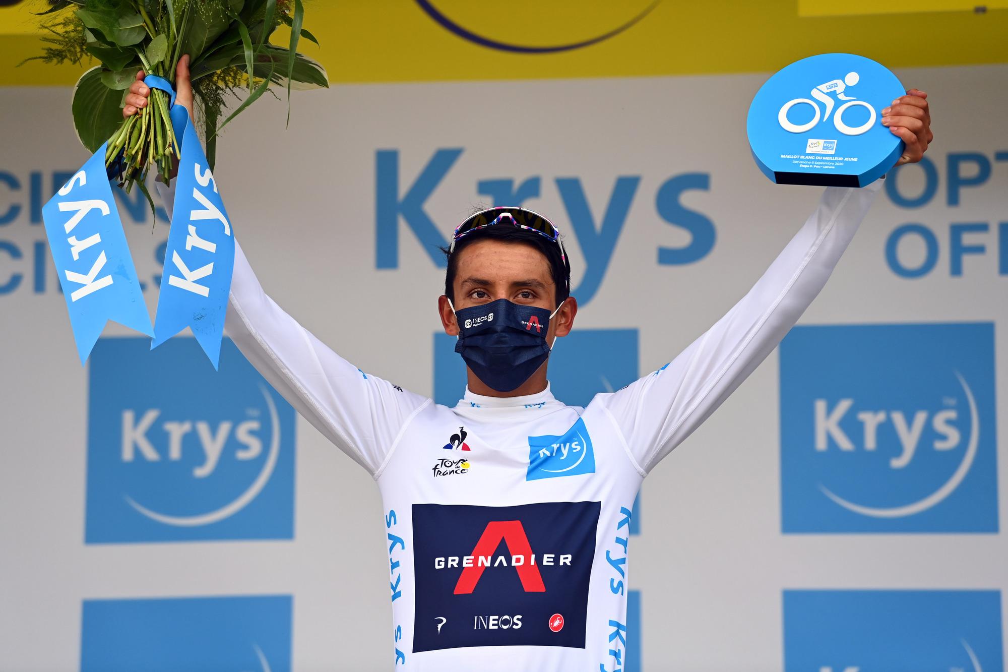 Tour de France 2020 - 107th Edition - 9th stage Pau - Laruns 153 km - 05/09/2020 - Egan Bernal (COL - Team Ineos) - photo POOL/BettiniPhoto©2020