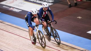How to watch track cycling at Tokyo Olympics: Jennifer Valente and Megan Jastrab of Team USA