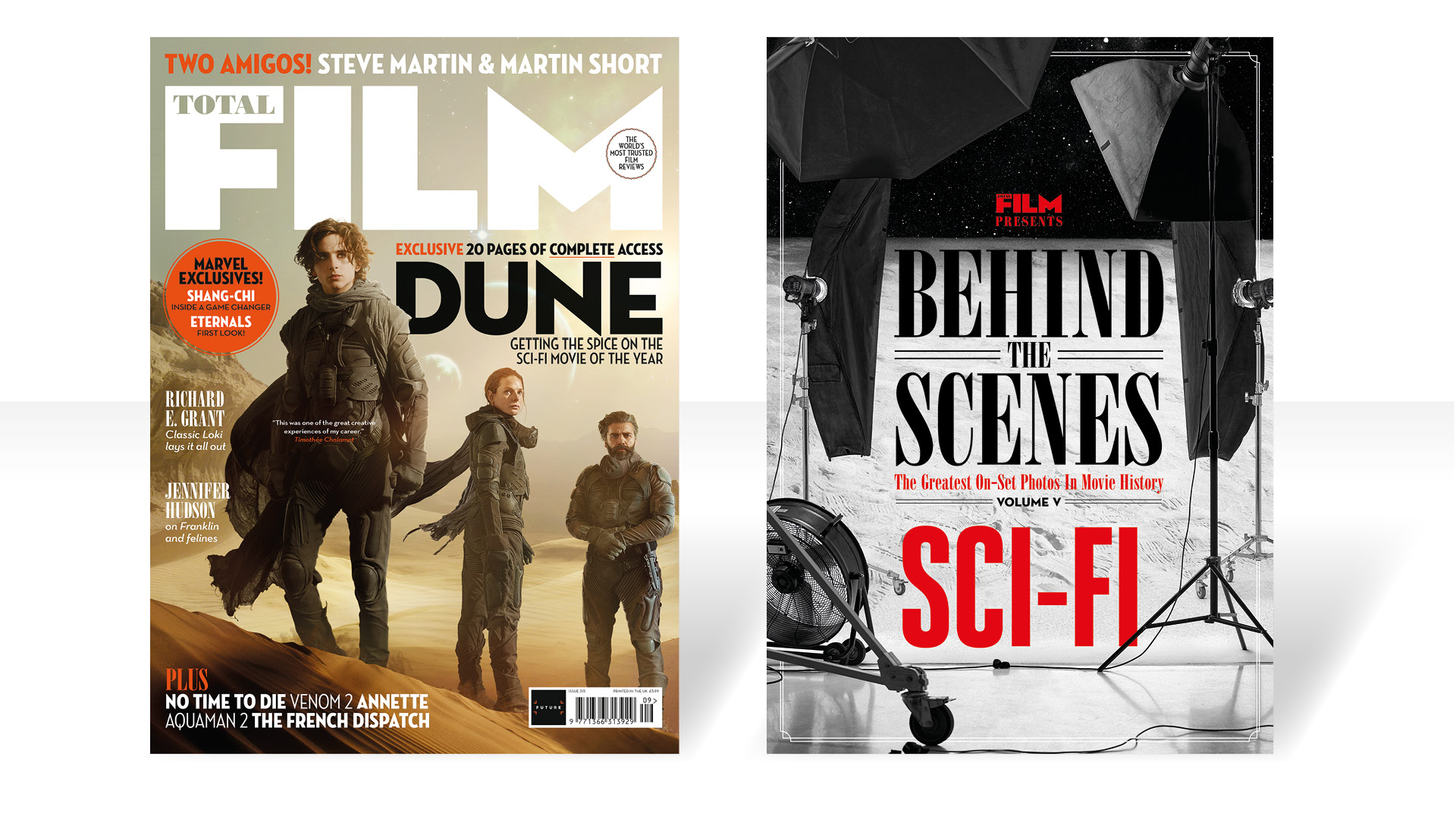 Total Film's Dune issue and special supplement