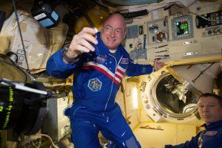 Scott Kelly Onboard ISS