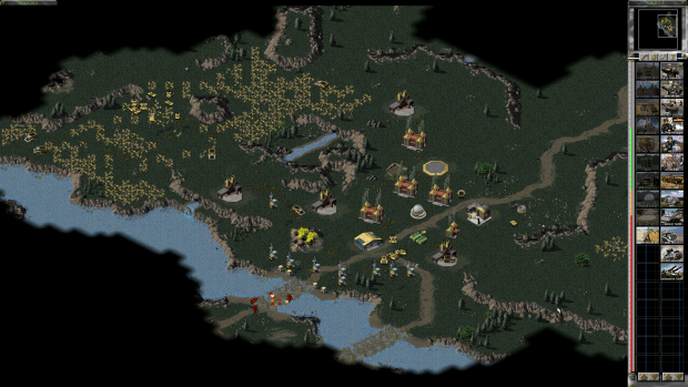Dawn of the Tiberium Age, the mod that combines C&C and Red