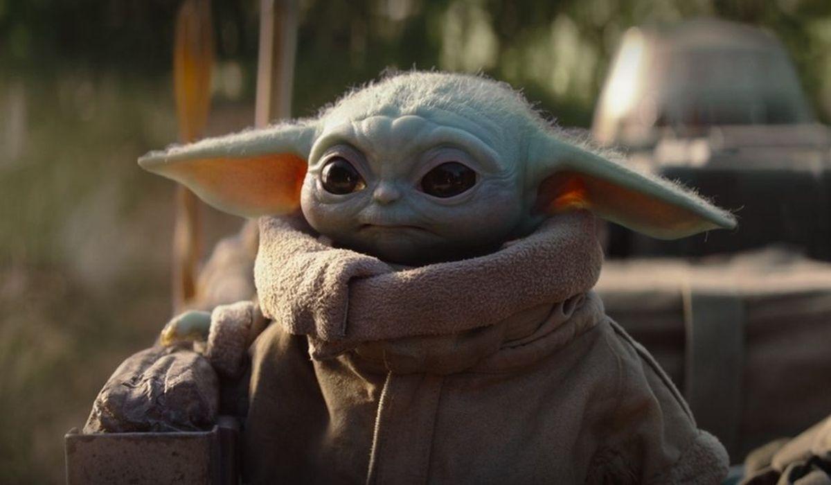 Baby Yoda looking adorable