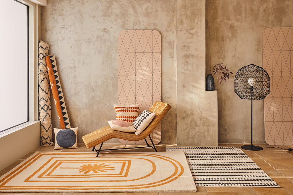We predict that this Moroccan-inspired seating from Habitat will be big in 2020