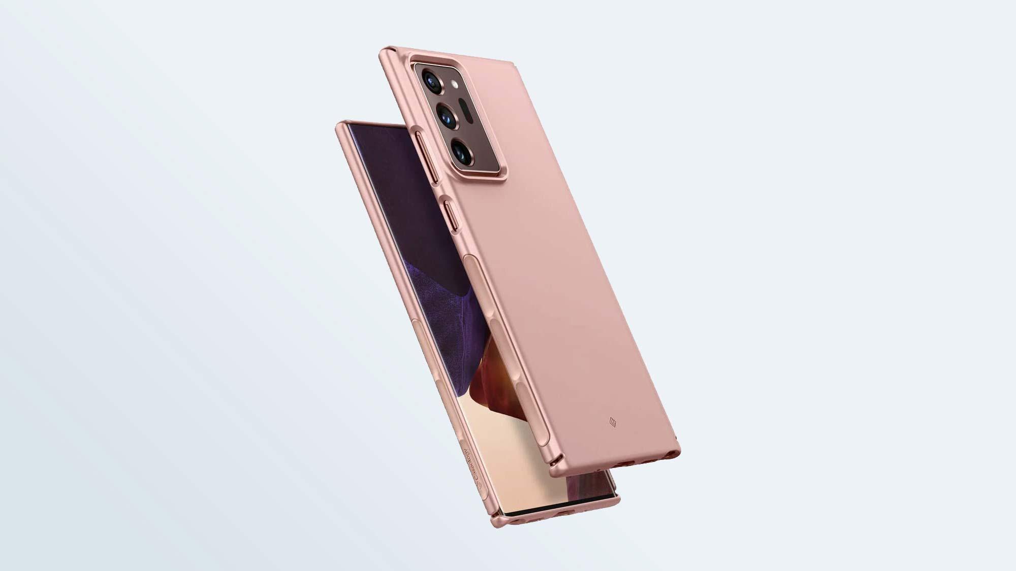 Лучшие чехлы для Samsung Galaxy Note 20 Ultra: Caseology Dual Grip для Galaxy Note 20 Ultra