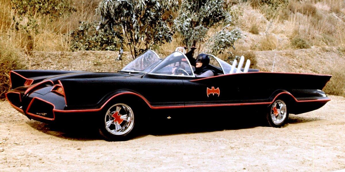The Batmobile form the 1960s era Batman TV series