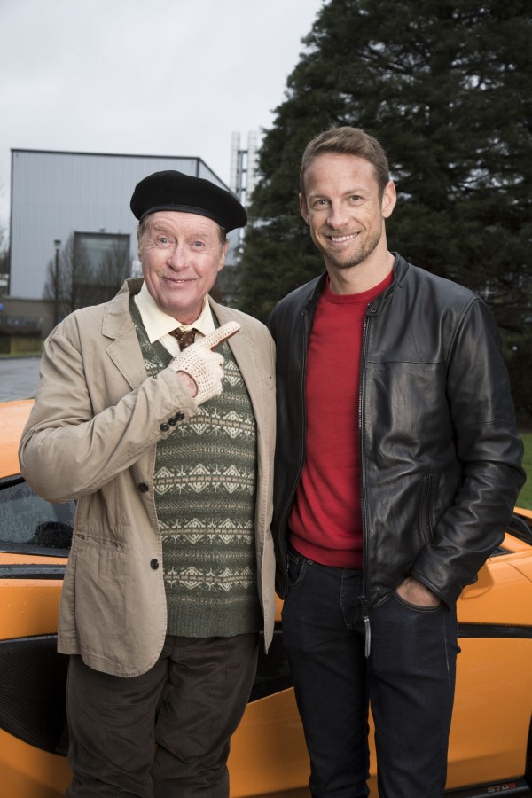 Michael Crawford and Jenson Button for Sport Relief