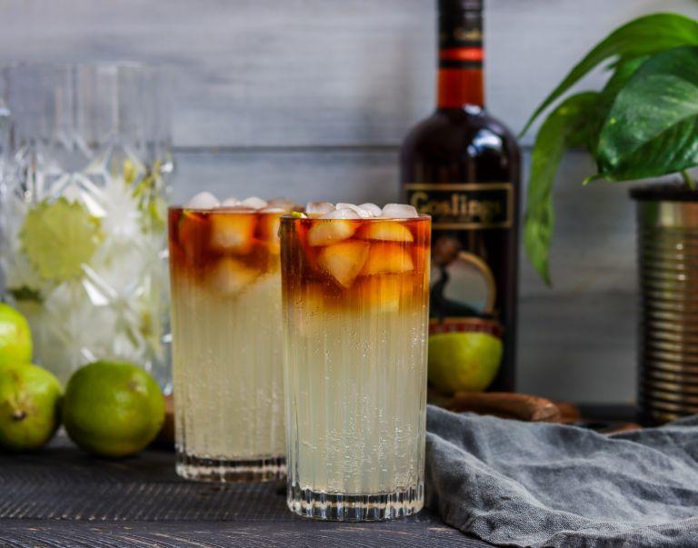 Gosling's Rum Dark and Stormy recipe