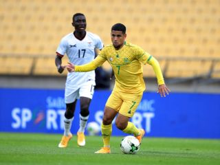 Bafana Bafana's Keagan Dolly