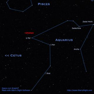 Dim but Visible: Seeking Out Uranus