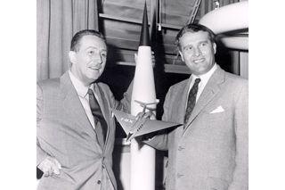 Walt Disney, Dr. Wernher von Braun