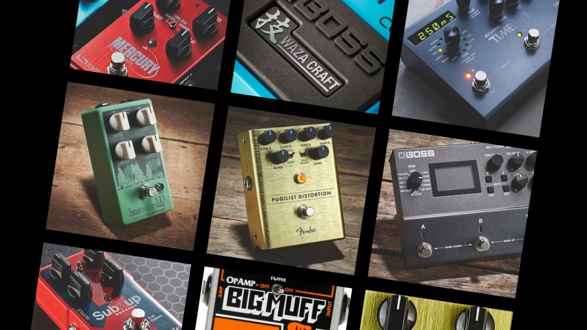 Guitar Pedals - cover