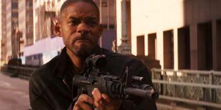 Will Smith I Am Legend Firing Gun
