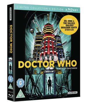 Dr Who & the Daleks Blu-ray