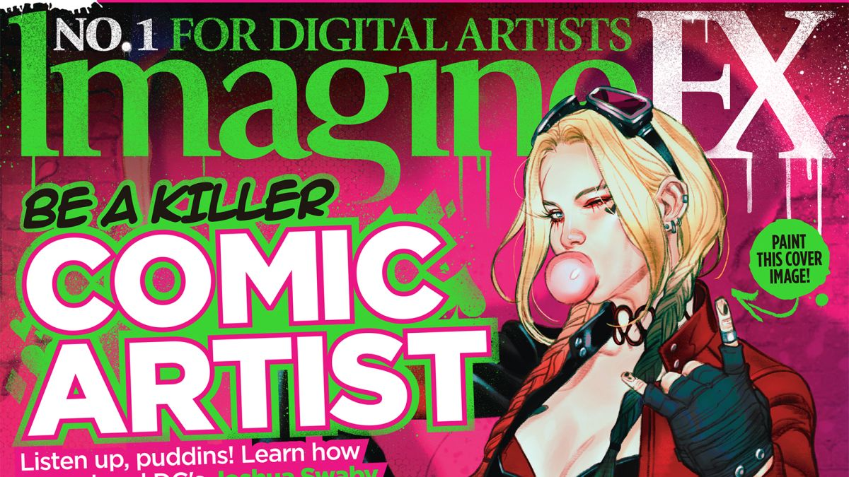 Learn to draw comic art with the new issue of ImagineFX