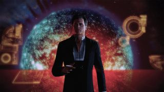 Illusive Man in Mass Effect Legendary Edition