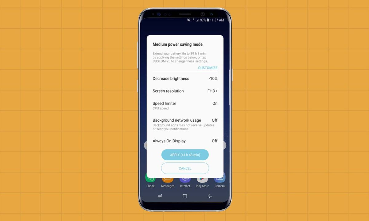 How to Improve Battery Life on Your Galaxy S8 - Samsung Galaxy S8