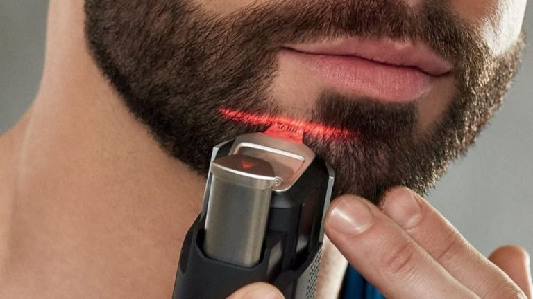 Best beard trimmer: Philips Series 9000 Laser Guided Beard and Stubble Trimmer