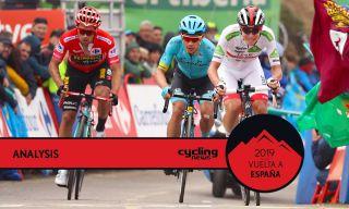 Primoz Roglic, Tadej Pogacar, Miguel Angel Lopez, 2019 Vuelta a Espana