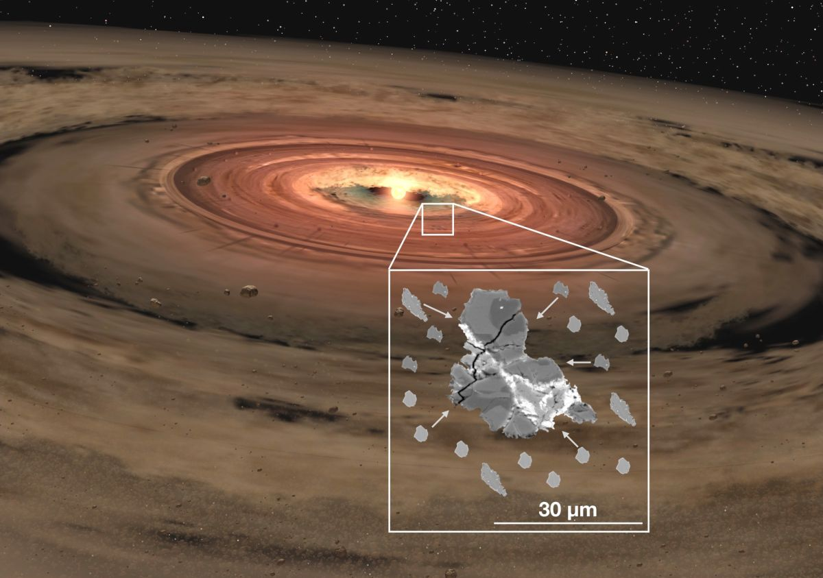 Tiny Space-Rock Particles Could Hold Secrets to Early Solar System
