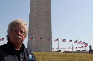 dave doyle, washington monument survey, virginia earthquake effects, surveys in washington dc, geodetic surveys, surveying the Washington monument, geodesy