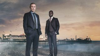 Peter James on 'Grace' - Picture shows John Simm and Richie Campbell.