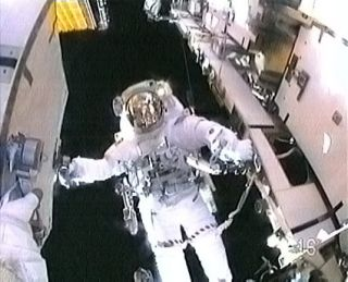 Spacesuit Glitch Cuts Spacewalk Short