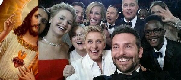 oscar selfie parody