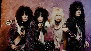 Mötley Crüe in Tokyo, 1985