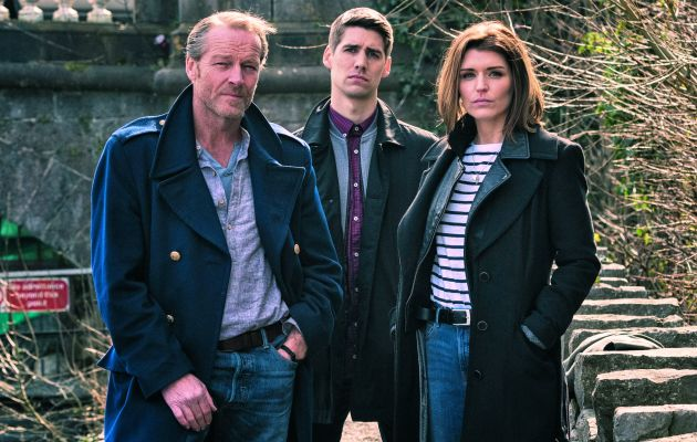 On the case: Jack, Darragh and Kate in this weels episode of Jack Taylor