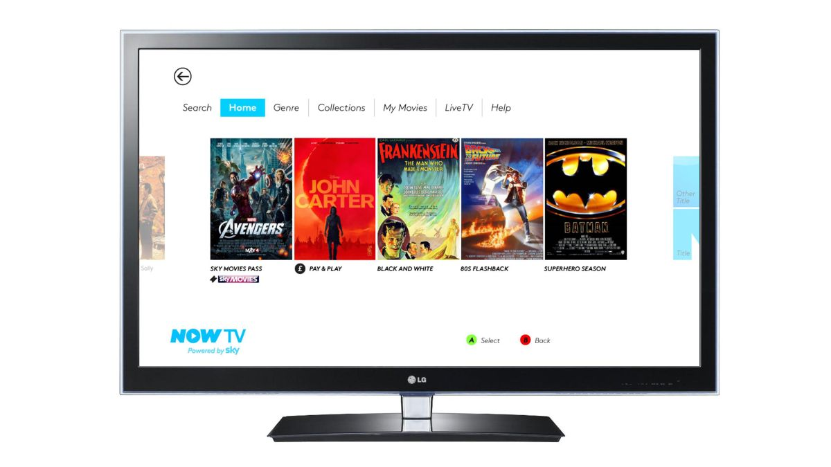 Sky Movies and Sky Sports comes to the Sony PS3 with Now TV app
