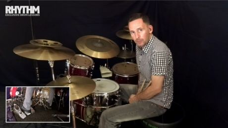Drum lesson: get that left foot working