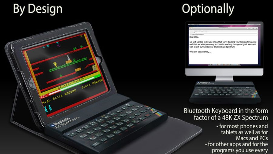 Zx Spectrum Is Coming Back As A Bluetooth Keyboard Techradar