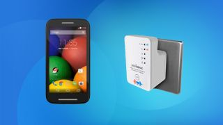 Get a Moto E for £7.50 per month, and save 37% on a 5GHz wifi extender