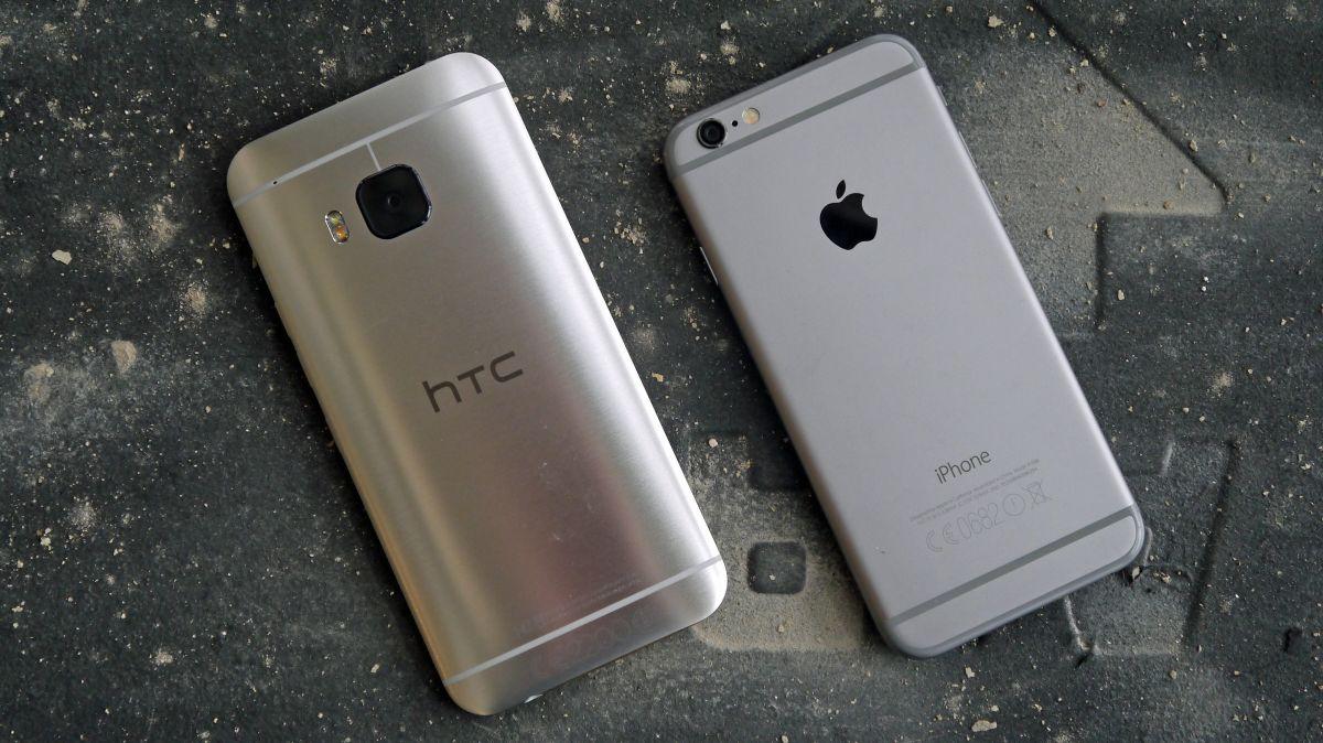 HTC One M9 vs iPhone 6