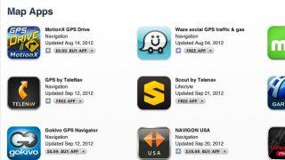 iTunes Maps apps