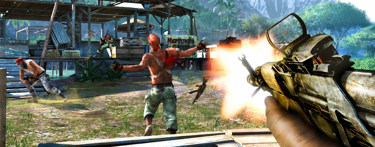 Far Cry 3 Screenshots Have Bandits Bodies And Explosions Pc Gamer