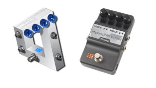 The Impossible Pedal has been designed in conjunction with Adrian Belew of King Crimson/Bowie-fame