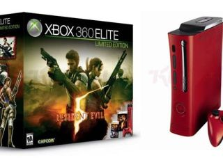 Red Xbox launches to celebrate Capcom's Resident Evil 5 launch next month