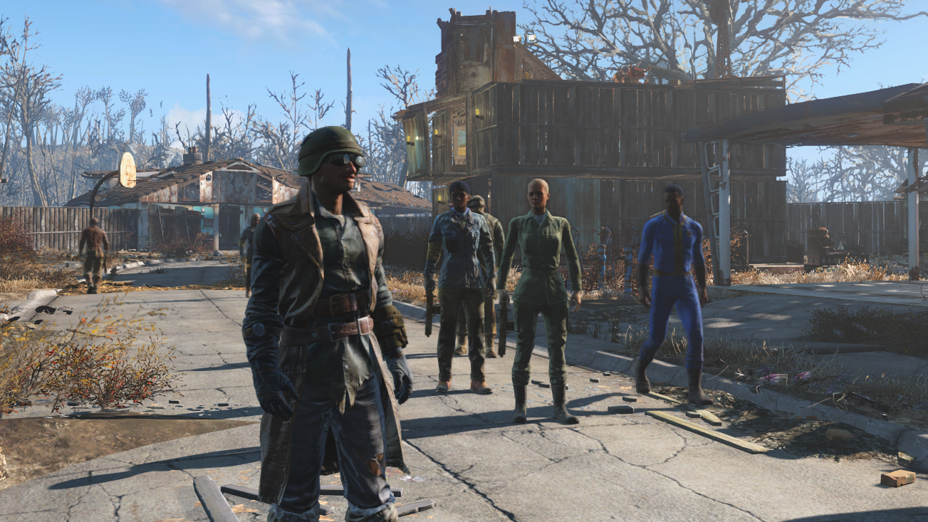 Playing Fallout 4 without ever leaving Sanctuary   PC Gamer