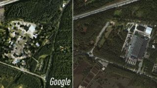 Google v Apple map