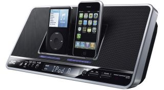 The JVC Double Dock - for the lazy, multiple iPod owner