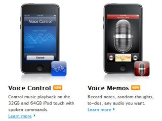 Speak up - iPod touch now comes with a mic